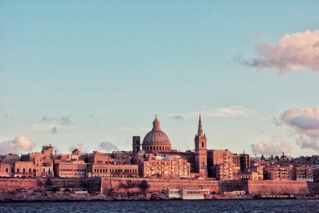 Valletta Malta backdrop