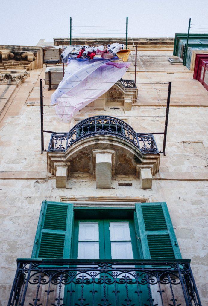 balcony in malta