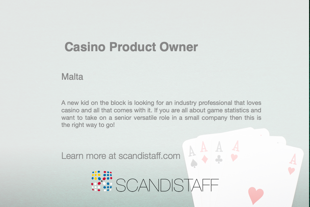casinoproductmanager