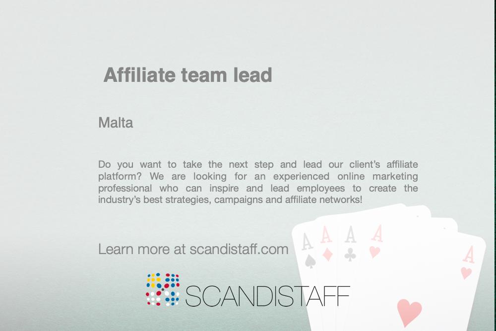 affiliate team lead