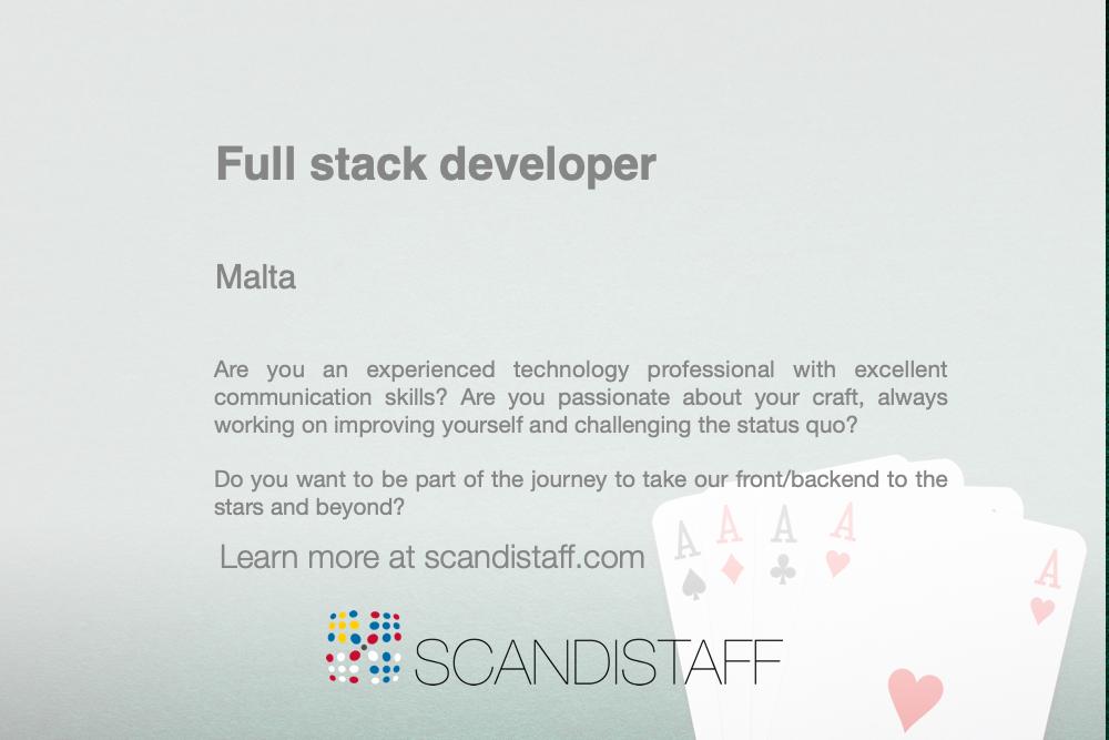 full stack developer 1